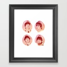 The Fab Four II Framed Art Print