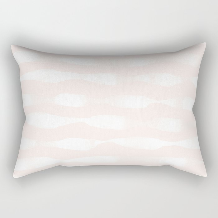 wavy lines soft Rectangular Pillow