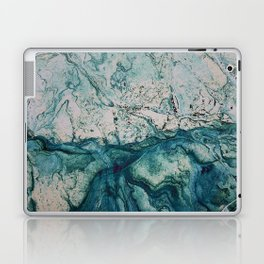 Blue underwater stone Laptop & iPad Skin