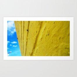 Yellow Brick Art Print