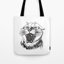 tiger angry growls ( https://society6.com/vickonskey/collection ) . Art Tote Bag