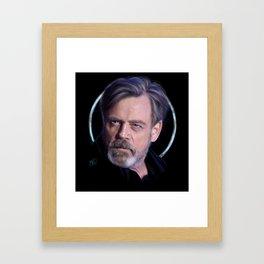 Mark Framed Art Print