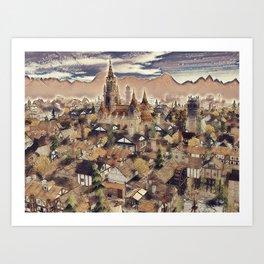 The Chapels Art Print