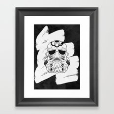 Storm Trooper #3 Framed Art Print