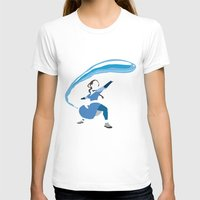 airbender T-shirts featuring Katara by JHTY