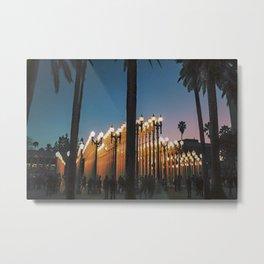 Urban Lights ll Metal Print