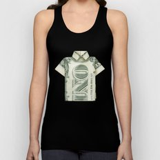 One dollar shirt Unisex Tank Top