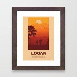 One Last Time - Logan Framed Art Print