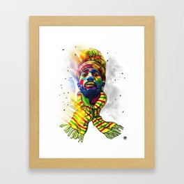 Rise to the occasion Framed Art Print