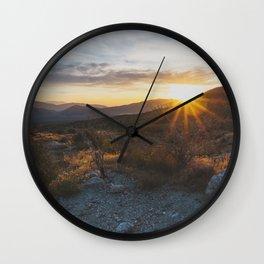 Scissors Crossing - Pacific Crest Trail, California Wall Clock