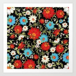 Art Flowers V6 Art Print