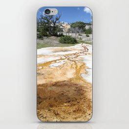 Canary Hot Springs iPhone Skin