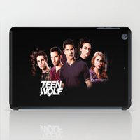 teen wolf iPad Cases featuring teen wolf by kikabarros
