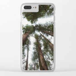 Redwood Portal - nature photography Clear iPhone Case