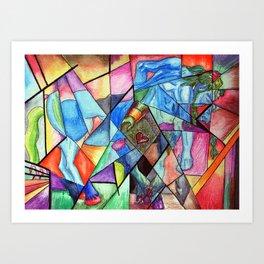 Chiron Art Print