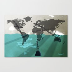 greed Canvas Print