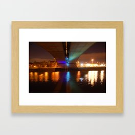 Kingston Bridge Framed Art Print