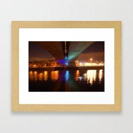 Kingston Bridge Framed Art Print