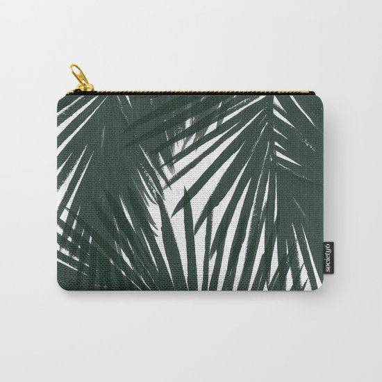 Palms Green Carry-All Pouch