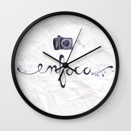 enfoca Wall Clock