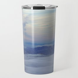Sunrise on top of Ole Smokey Travel Mug