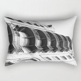 Warehouse District Architecture Hamburg Rectangular Pillow