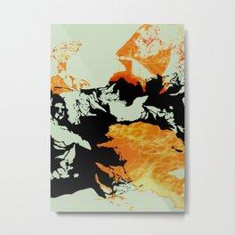Destructive Nature Metal Print