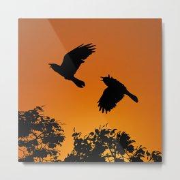 Ravens song and dance Metal Print