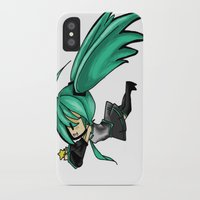 vocaloid iPhone & iPod Cases featuring Vocaloid by Niky Boo