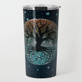 Autumn Esoteric Triple Moon Travel Mug