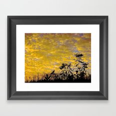 Evening Perfection Framed Art Print