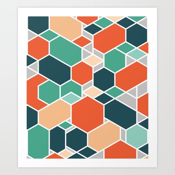 Hex P Art Print