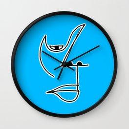 Half a Soul Wall Clock