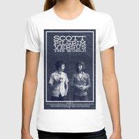 scott pilgrim T-shirts featuring Scott Pilgrim Vs The World by Bill Pyle