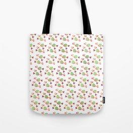 Three Fruit Combo Pattern Tote Bag