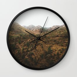 Flinders Ranges Wall Clock