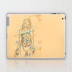 grenade girl Laptop & iPad Skin