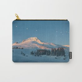 Mt. Hood Sunset Carry-All Pouch