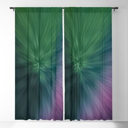 Calamity of Clashing Colors Blackout Curtain