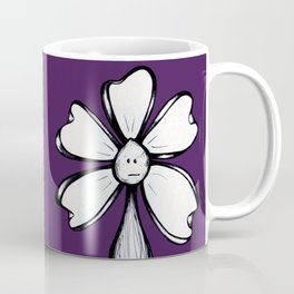 """Blank Face"" Flowerkid Coffee Mug"