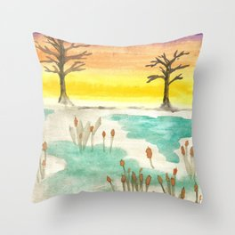 skyscapes 5 Throw Pillow