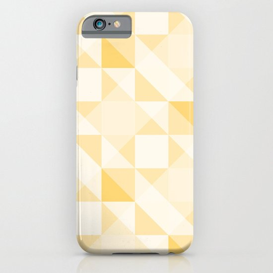 All Yellow Triangle Pattern iPhone & iPod Case