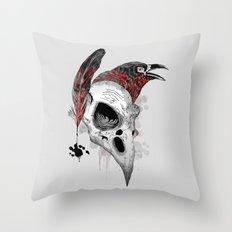DARK WRITER Throw Pillow