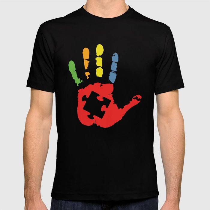d6ce300002e Autism Awareness tee autism T-shirt by yanmccrae | Society6