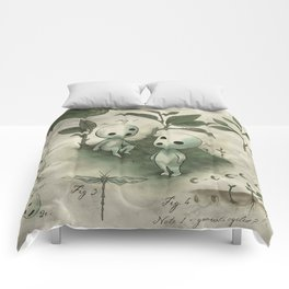 Natural Histories - Forest Spirit studies Comforters