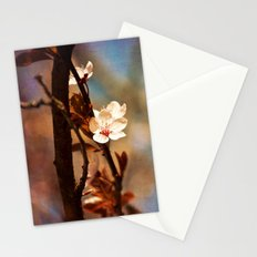 Pink Bloom Stationery Cards