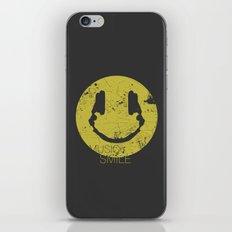 Music Smile iPhone & iPod Skin