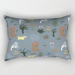 The storm Rectangular Pillow