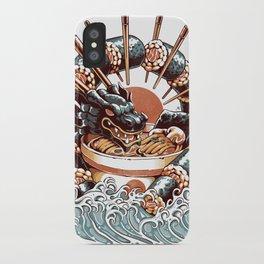 Dragon Sushi Ramen iPhone Case