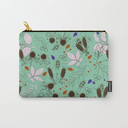Echinacea mint Carry-All Pouch